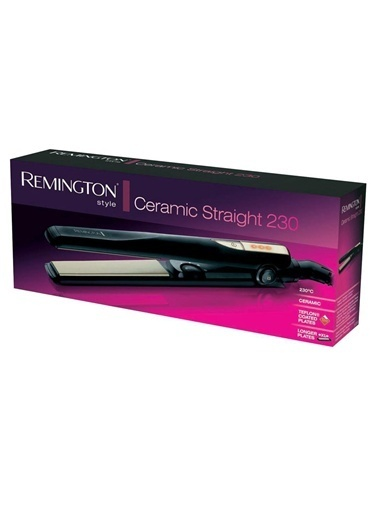Remington S1005 Seramik Straight 230 Saç Düzleştirici Siyah